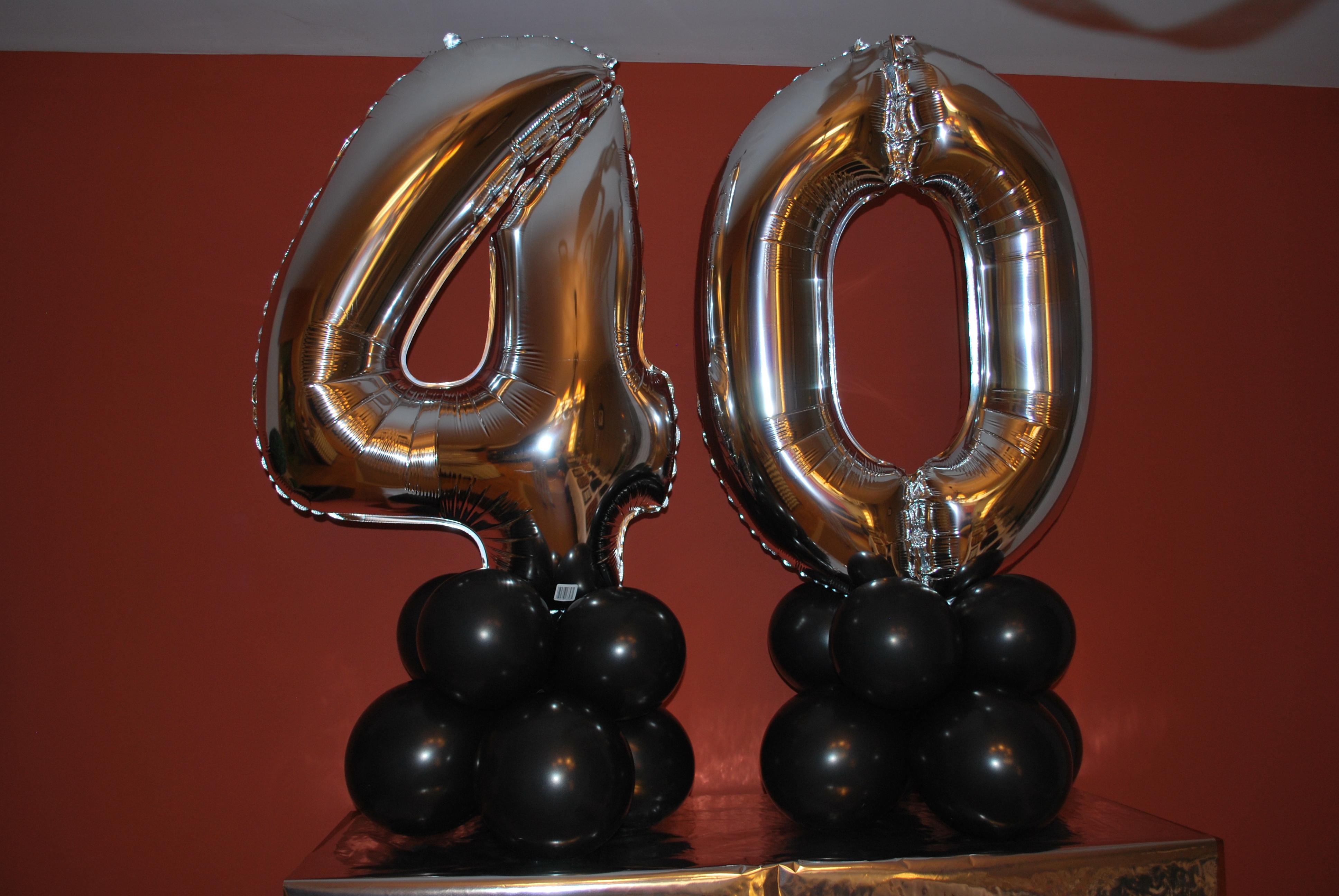 40 cumplea os parte ii bolas de chicle for Decoracion 40